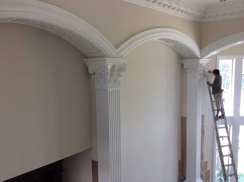 Arches And Columns Dallas Plaster Ornamental Plaster Of