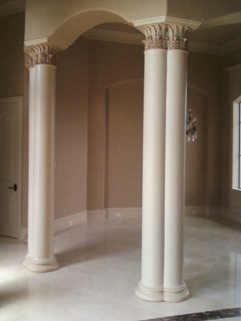 Arches And Columns Dallas Plaster Ornamental Plaster Of