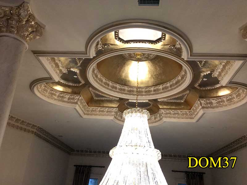 plaster dome shaped light |Plaster Domes
