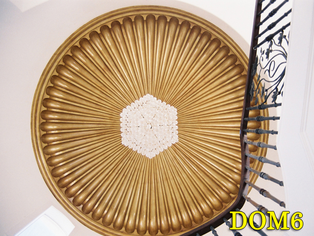 Architectural Plaster Ceiling Domes |Plaster Domes