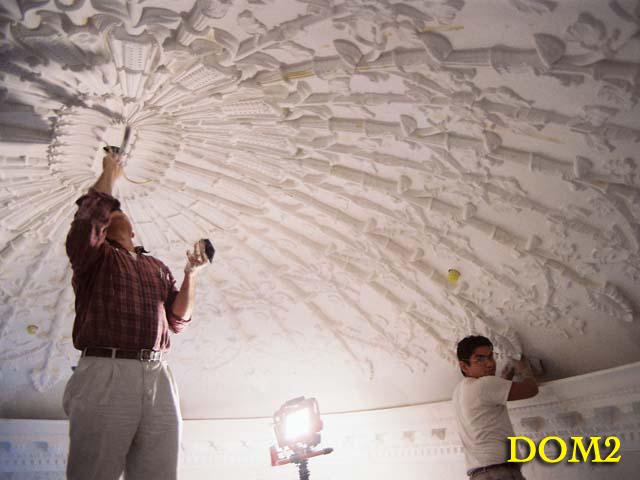Domes Dallas Plaster Ornamental Dome Ceiling