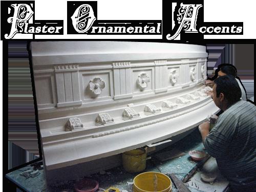 Plaster Architectural Decorative